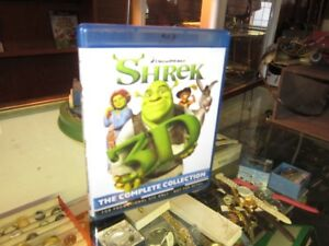SHREK The Complete Collection On 3D Blu Ray For Sale