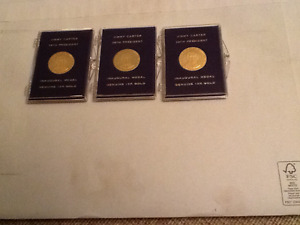 JIMMY CARTER INAUGURAL MEDALS