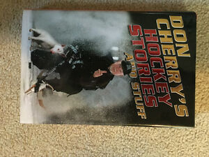 Don Cherry hockey stories and stuff hard cover