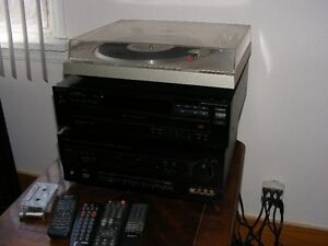 Pioneer & Sony Hi Fi