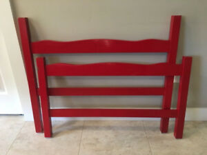 ***Red Single/Twin Head & Foot Boards $10.00***