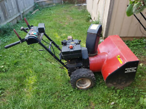 Dynamark 10hp snowblower for sale