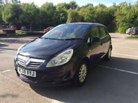 Cheap Vauxhall Corsa LIFE, Black, 1.2L, Petrol, Great for a first car. £2800.00 OVNO