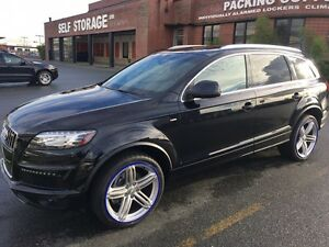 2013 Audi Q7 S line, fully loaded