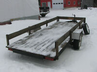 13 Ft X 5 Ft. Single Axle Utility Trailer