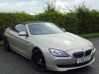 2011 11 BMW 6 SERIES 3.0 640I SE 2D AUTOMATIC
