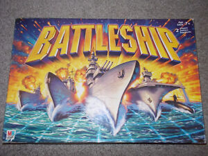 Traditional Battleship board game