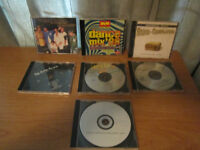 Music Mix CD's Package, QTY = 7