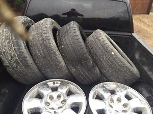 """Just in time!! Gmc 20"""" wheels WITH tpms sensors"""