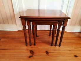 Nest of occasional tables- Rossmore furniture