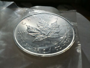 100oz Silver Ultra-Secure Maple coins, Wholesale, mint-unopened