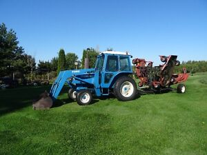 Tractor and 20 foot Allied Grass Cutter Kawartha Lakes Peterborough Area image 3