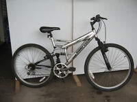 """SUPERCYCLE VICE ROUES 26"""", DBL. SUSPENSION"""