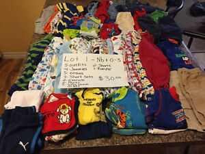 Baby boy clothing for sale nb-24 months
