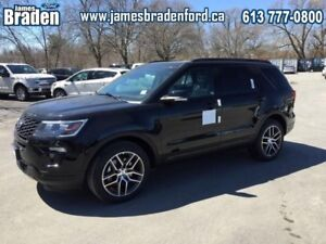 2018 Ford Explorer Sport 4WD  - Sunroof - Leather Seats