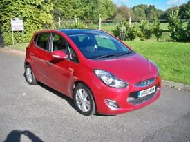 Hyundai IX20 1.6 STYLE AUTO FULL SERVICE HISTORY AIR CON & PANORAMIC ROOF (red) 2011
