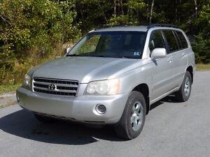 2003 Toyota Highlander SUV, Crossover