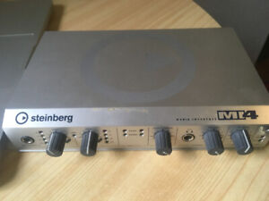 Cubase System 4 with Steinberg MI4 USB interface with MIDI