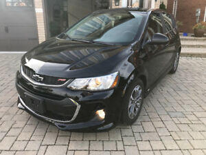 2018 Chevrolet Sonic ONLY 2400 KM 1.4 TURBO