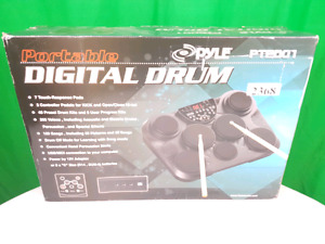 PYLE PORTABLE DIGITAL DRUM PTED01 - NEW IN OPEN BOX