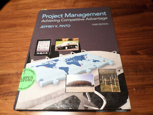 Project Management Achieving Competitive Advantage textbook London Ontario image 1