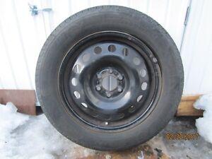 4 pneus d'été Michelin avec jantes