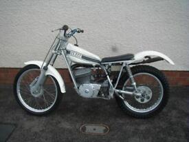 YAMAHA TY250 1974 RIDE OR RESTORE
