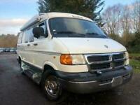 FRESH IMPORT 2002 DODGE RAM,ASTRO,RV170 4 BERTH CAMPER DAY VAN CLEAN MOTOR HOME