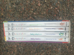 Baby Einstein DVD's -4 for $15
