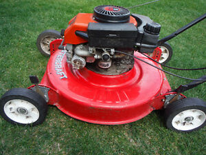 4 HP Mastercraft lawn mower .Running condition
