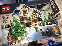 Lego Christmas house