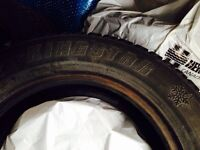 4 studded Winter tires - 205/65 R15