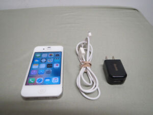 Apple iPhone 4S 16GB Rogers Chatr Phone Smartphone White