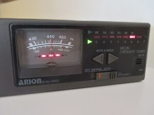 Price reduced again ! Arion Quartz Micon Chromatic Tuner HU-8400 West Island Greater Montréal image 2