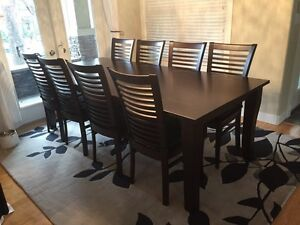 Beautiful solid wood dining table