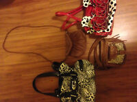 Variety of different purses for sale