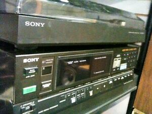 SONY receiver SONY turntable with Vintage SONY Speakers London Ontario image 1