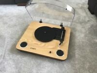 Ion Vinyl Record Player and Records