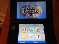 Nearly Brand New Condition Blue 3DS XL w/Gateway Cart