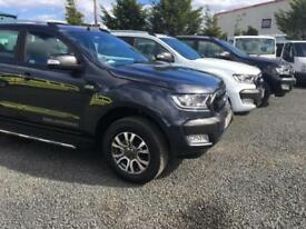Ford Ranger 3.2TDCi 18 reg auto Wildtrak brand new