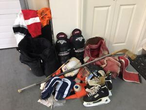 Man's Hockey Gear