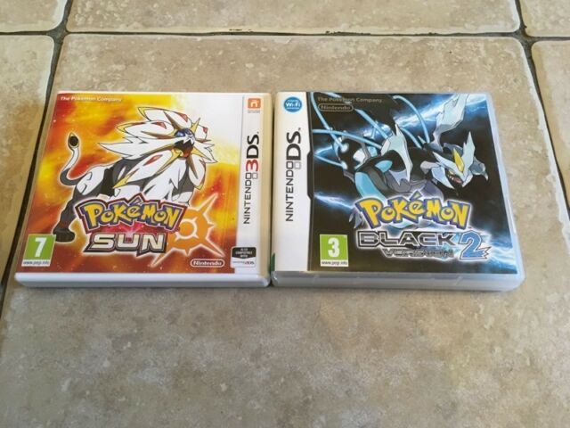 Pokemon Sun & Pokemon Black version 2 for Nintendo 3DS & DS | in Ystrad  Mynach, Caerphilly | Gumtree