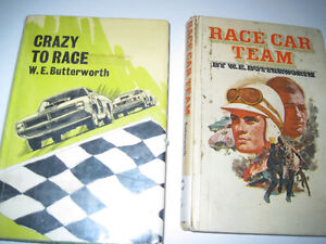 Hardcover Racing Books by W.E. Butterworth