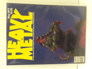 Heavy Metal Magazines 1977-92 ( 112 Issues)