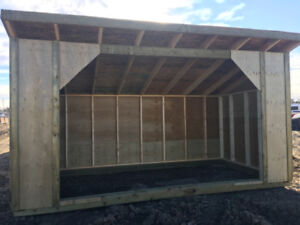 NEW 14'x8' Horse Shelter