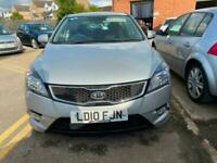 2010 KIA CEED 3 1.6 16v SILVER 5dr HATCH, 1 OWNER FROM NEW, FULL MOT, SERVICE,