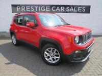 2015 Jeep Renegade 1.6 MultiJet Longitude 5dr Diesel red Manual