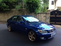 03 lexus is200 sport built in sat-nav £650