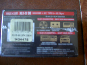 Audio Cassettes New Factory Sealed MAXELL / BASF / TDK / 90/100m West Island Greater Montréal image 6