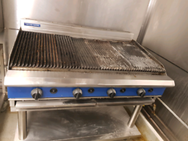 Blue seal commercial grill gas